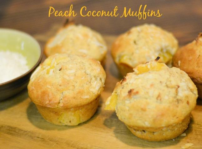 Peach Muffins 1